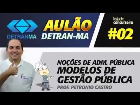 🚦DETRAN-MA - Aulão #02 - Noções de Administração Pública - Petronio Castro