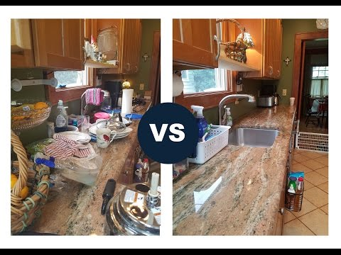 Sophia VS. The Kitchen ||  Just me...CLEANING!!!!