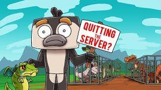 Crazy Minecraft - I AM QUITTING THE SERVER! (I Am Sorry 💔)