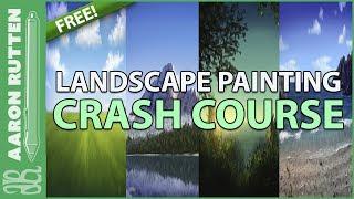 FREE Landscape Painting Crash Course for Corel Painter