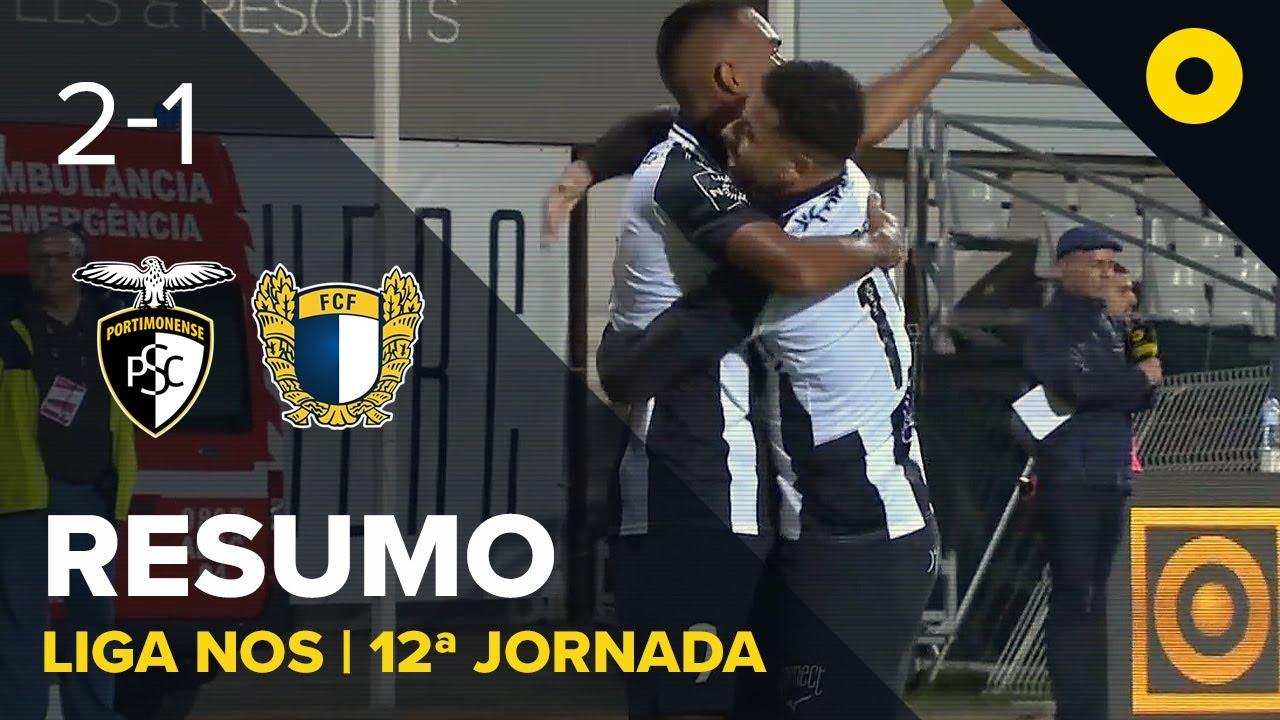 Портимоненси  2-1  Фамаликан видео