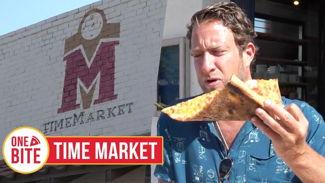 Barstool Pizza Review - Time Market (Tucson, AZ) Bonus Cookie Review