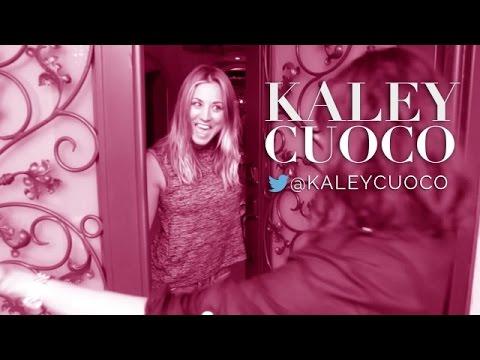Kaley Cuoco Invites Us Inside Her Boudoir  Allure Insider