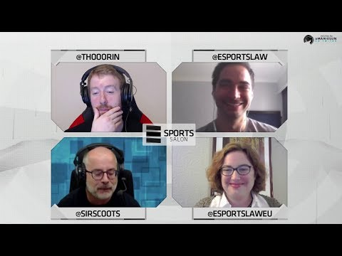 Esports Salon Episode 17: Player Contracts (feat. Bryce Blum, SirScoots and Anna Baumann)