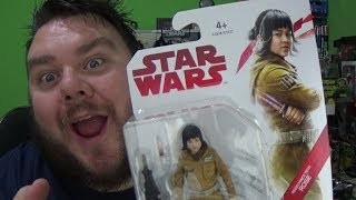 Star Wars The Last Jedi Resistance Tech Rose Tico 3.75 Inch Action Figure Review