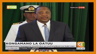 Rais Uhuru Kenyatta ahudhuria kongamano la COTU