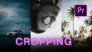 How to CROP Y๐ur Video | Premiere Pro Tutorial