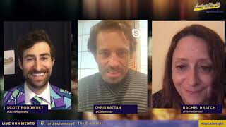 """Rachel Dratch and Chris Kattan on trying not to """"break"""" when doing a sketch with Will Ferrell"""