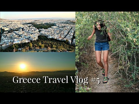 THE TALLEST POINT IN ATHENS GREECE // Travel Vlog #5