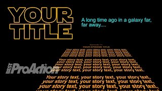 How Did You Do That E74 Making Star Wars Intro
