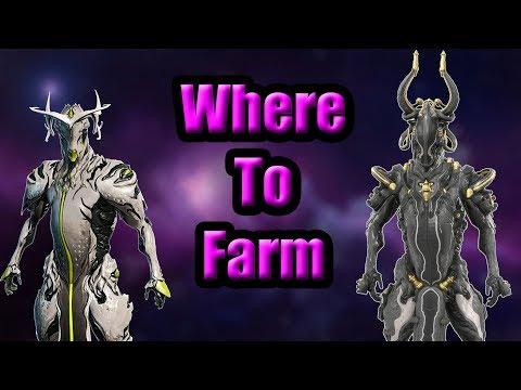 Warframe - Where To Farm Oberon + Oberon Prime - Warframe Hunters