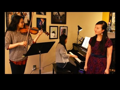 Five Hebrew Love Songs Solo Soprano Version (performed by Emma, Sarah and Wei Jiang)