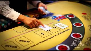 Adelaide Casino presents: The Texas Hold