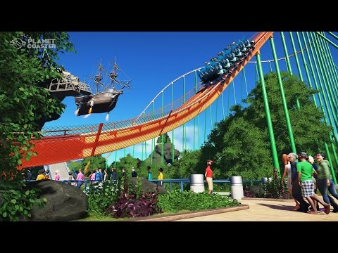 Planet Coaster | Exploring Other Parks and Millennium Force Recreation!