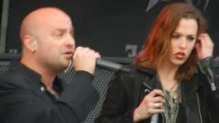 "Device performing ""Close My Eyes Forever"" feat Lzzy Hale LIVE at Carolina Rebellion 2013"