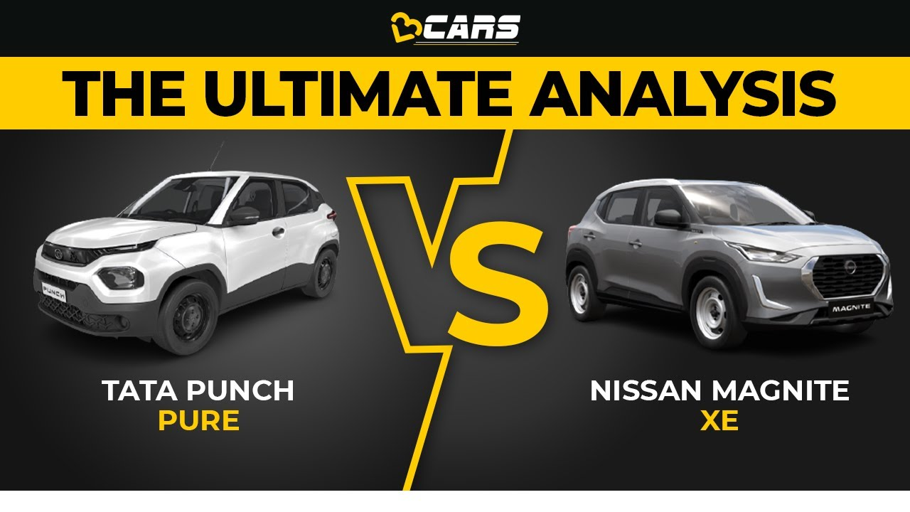 Download Punch Pure vs Magnite XE | Which Is The Best Budget SUV? | Oct 2021 | The Ultimate Analysis