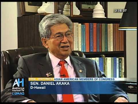 Oral Histories Preview: Sen. Daniel Akaka