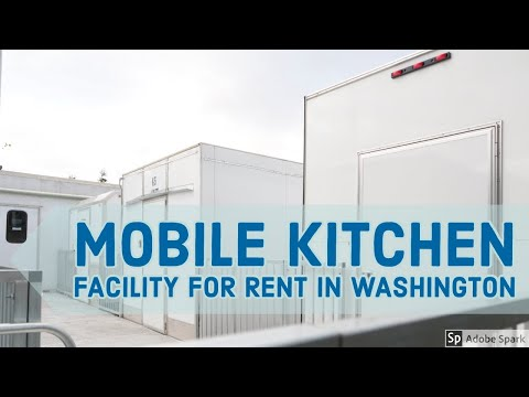 Temporary Mobile Kitchen Facility Rental In Washington I Temporary Kitchens 123