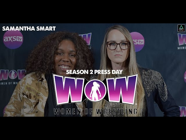 WOW: Women of Wrestling Press Conference - Samantha Smart