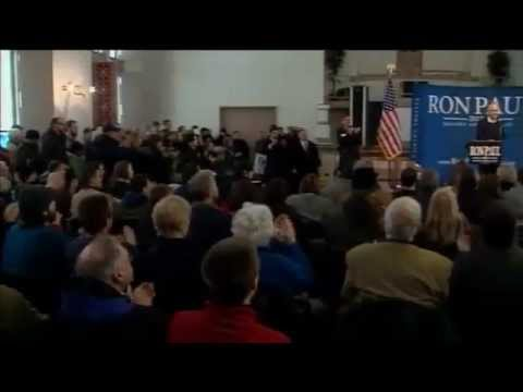Ron Paul in Maine looking for delegates