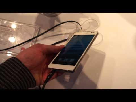 Huawei Ascend D2 - первый взгляд