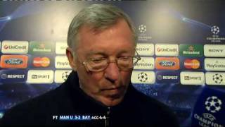 """Sir Alex Ferguson """"typical Germans"""" - brought to you by Wrigley's unofficial sponsors of SAF"""
