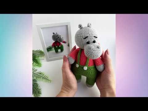 Free Crochet Patterns and Designs by LisaAuch: Crochet Hippo A ... | 360x480