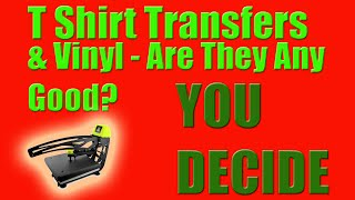 T Shirt Transfer Printing And Vinyl Tutorial Is It Any Good  You Decide