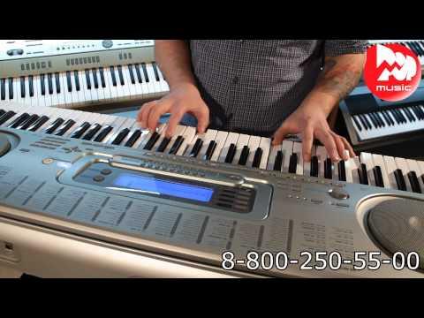 Синтезатор CASIO WK-3300