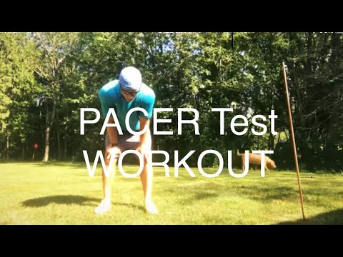 PACER TEST WORKOUT (Run it with me)!