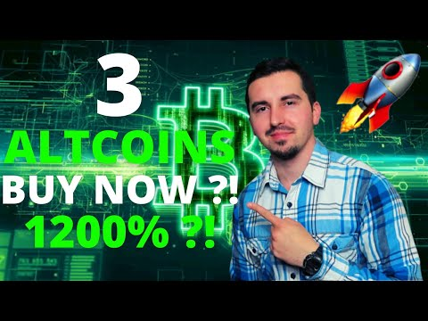 Top 3 Altcoins Ready To EXPLODE in August 2021🚀| BEST Cryptocurrency NOW 1200% ?!(DONT MISS OUT)😱