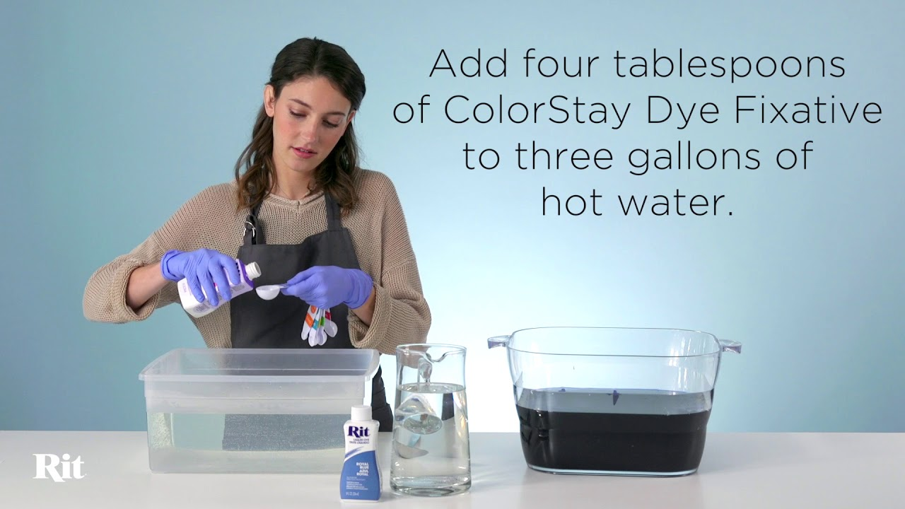 how to make rit dye