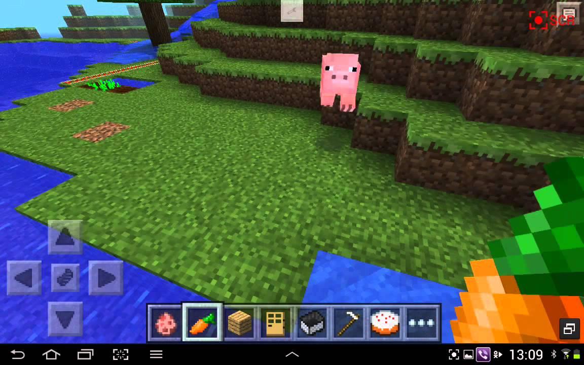 Майнкрафт как приучить свинью