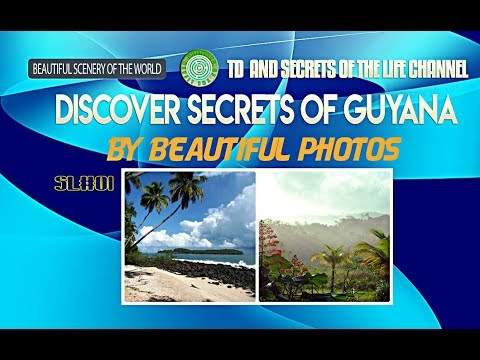 Discover secrets of Guyana by beautiful photos - SL 01