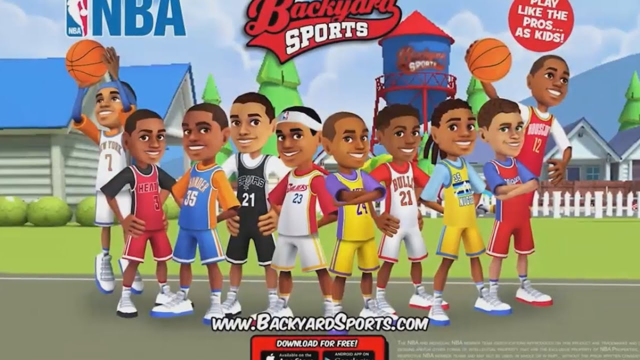 Backyard Sports Download stephen curry backyard sports power ups are real - youtube