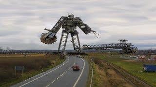 10 Самых больших экскаваторов в мире
