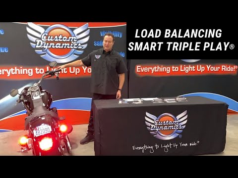 Load Balancing SMART Triple Play Run Brake Turn module for H-D Motorcycles