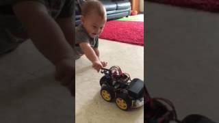 Elegoo Smart Robot Car Kit vs My Smart Human Kid