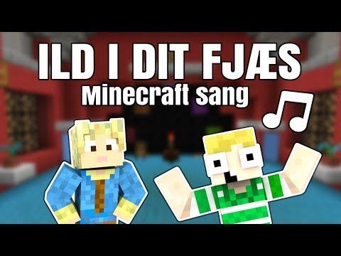 ♪ ILD I DIT FJÆS ♪ - feat Gammelfar Musik (Minecraft sang)