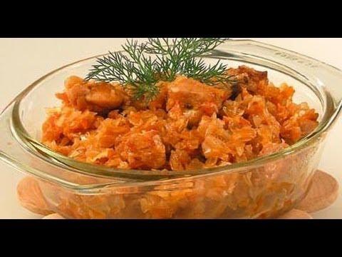 как готовить солянку из капусты с курицей