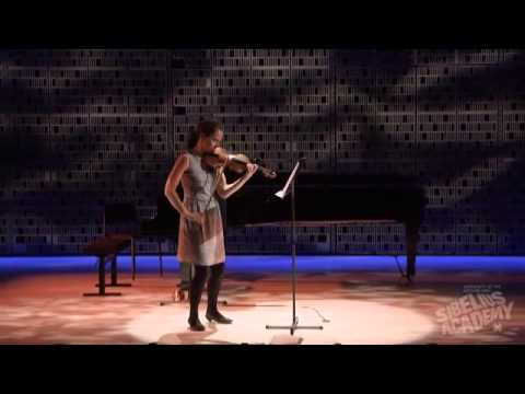 Anders Eliasson In Medias for solo violin, Annemarie Åström