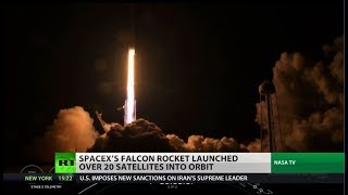 SpaceX passes milestone with historic launch