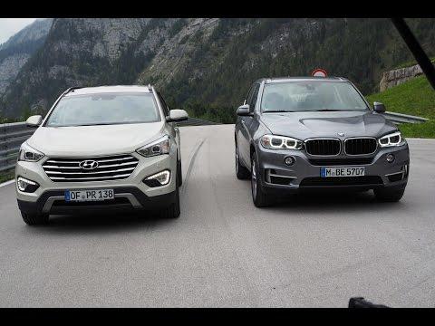 BMW X5 vs. Hyundai Grand Santa Fe - GRIP - Folge 315 - RTL2
