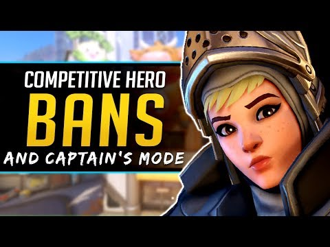 Overwatch Competitive Hero Bans and Captain's Mode