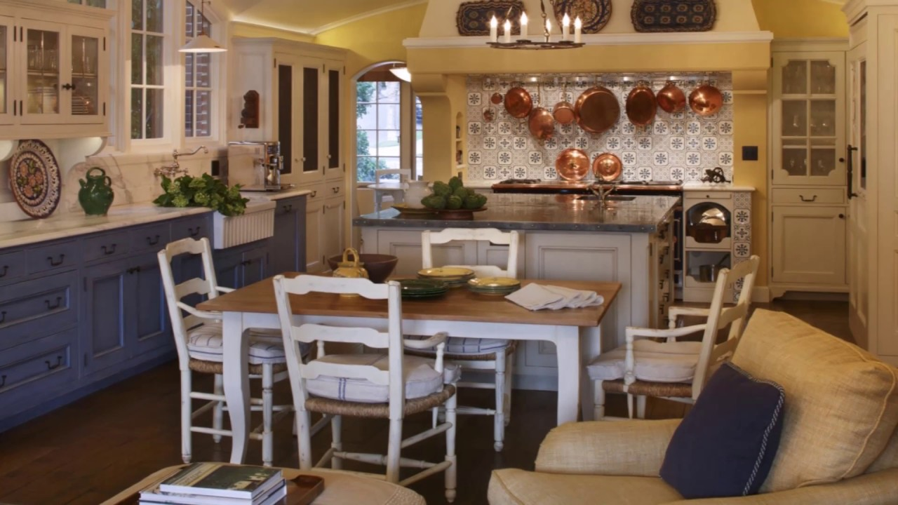 40 cocinas estilo provenzal dise o de interiores - Diseno interiores cocinas ...