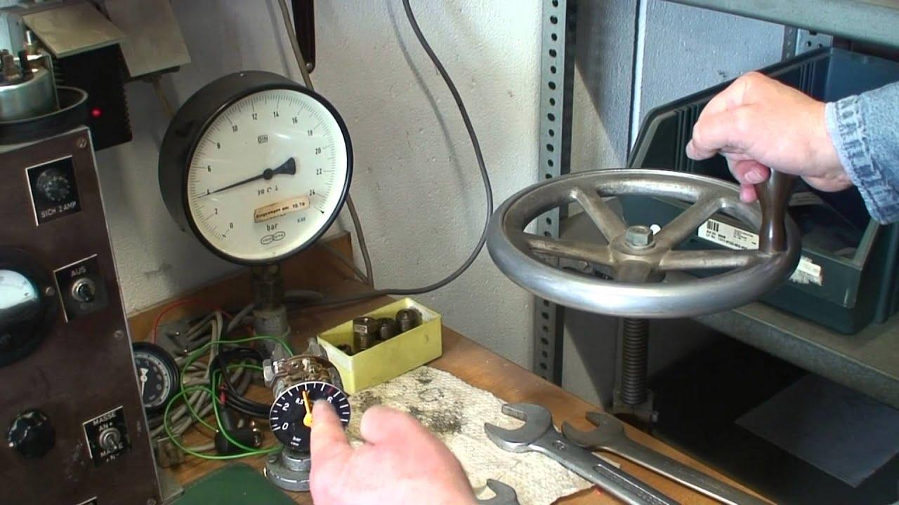 Oldtimer Tachometer Restaurierung