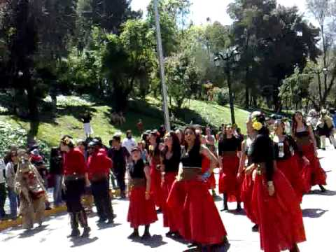 Street Party 12/10/2009 Santa Lucia Santiago Chile