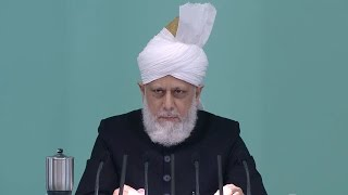 English Translation: Friday Sermon April 3, 2015 - Islam Ahmadiyya