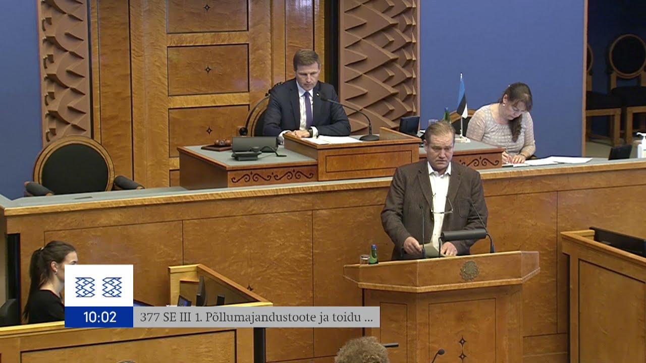Riigikogu istung, 14. september 2021
