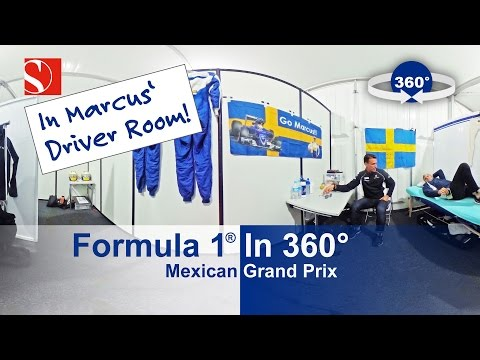 F1 in 360° - Mexican Grand Prix - Sauber F1 Team